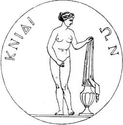 Knidos-coin-Aphrodite