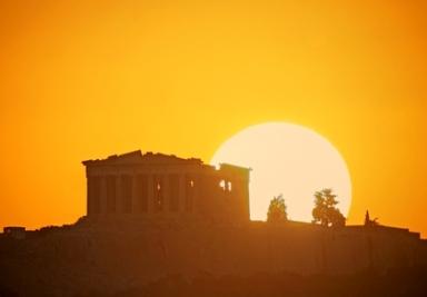 Sun Parthenon -Copyright- Chris Kotsiopoulos
