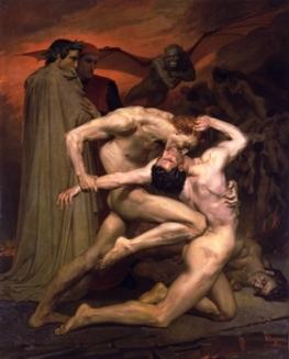 william-adolphe_bouguereau_1825-1905_dante_virgilio_inferno1850_