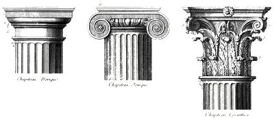 colunas gregas