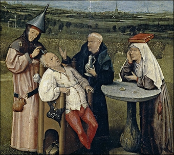 Hieronymus Bosch_Extraindo a Loucura