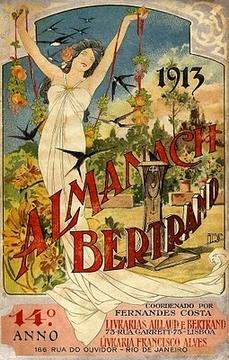 Capa Almanach Bertrand 1913