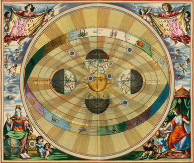 Cellarius' Copernican Universe