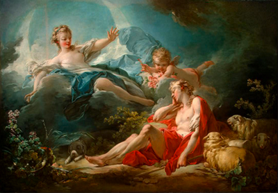 Jean-Honoré Fragonard, Diana and Endymion_about 1753-1755_