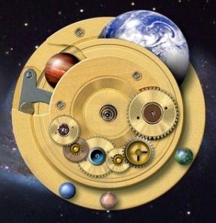relógio cósmico