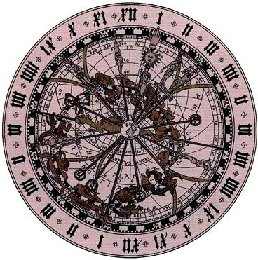 Detalle de la esfera en donde se reproducía el Universo_