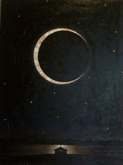 River Church - Crescent Moon by John Robinette