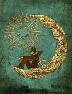 Victorian Steampunk Poster