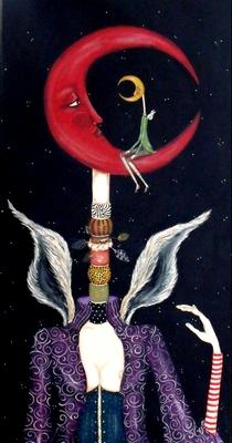 Moon on Moon by Paula Hallman