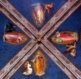 Sacristy ceiling, Basilica abbazia di San Miniato al Monte, Florence.