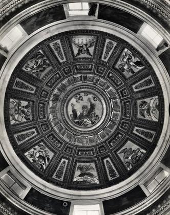 Sanzio Raffaello,Allegorie dei pianeti e segni zodiacali_Capela Chigi