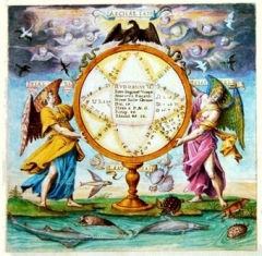 55a Horoskop RudolfaII., G. Hoefnagel-