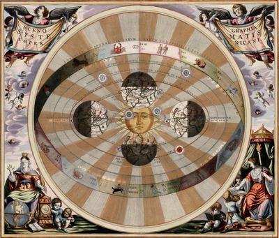 Andreas Cellarius Scenographia Systematis Copernicani