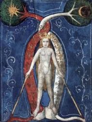 Philosophical Mercury (Mercurius) (c. 1400).
