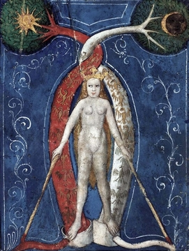Philosophical Mercury (Mercurius) (c. 1400).
