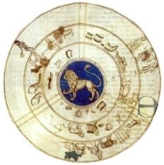 Figuras de los decanos de Leo. Libro de astromagia. Biblioteca Vaticana
