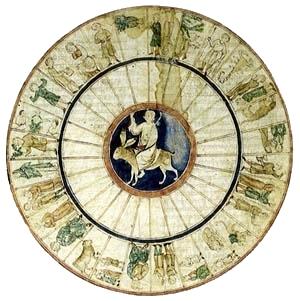 Las mansiones lunares. Libro de astromagia. Biblioteca Vaticana