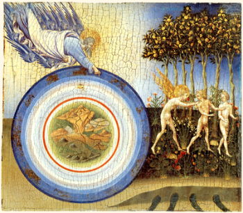 The Aristotelian Cosmos in Giovanni di Paolo's The Creation of the World and the Expulsion from Paradise (1445)-