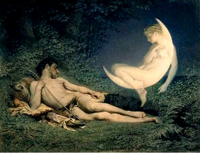 Endymion and Selene Victor Florence-Pollett 1850-60