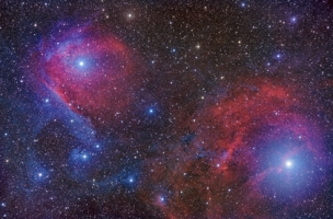 Scorpius in Red and Blue_