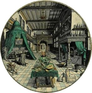 O oratório e o laboratório, Heinrich Khunrath, 1609_