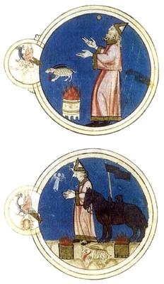 Sacrificios a Mercurio en Géminis y Cáncer, Libro de Astromagia