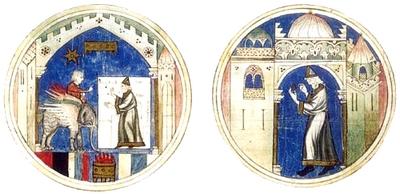 Anillos de Mercurio. Libro de astromagia. Biblioteca Vaticana