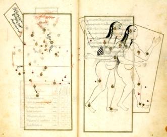 Miniature in an illustrated copy of al-Sufi's Kitab suwar al-kawakib