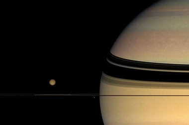 Moons, Rings, and Unexpected Colors on Saturn