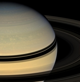 Saturn's Rings from the Other Side1
