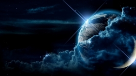 Outer-Space-Planets-Moon-Earth
