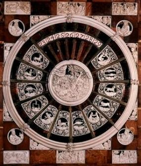 AS INGLATERRA LONDRES VICTORIA AND ALBERT MUSEUM CALENDARIO EN MARFIL Y AMBAR DEL SIGLO XVII