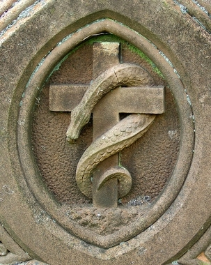 gnostic-serpent-cross