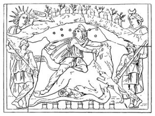mithras relieve