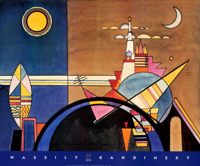 The Great Gate of Kiev - Wassily Kandinsky_