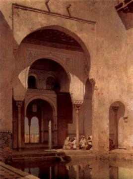 Alhambra, Adolf Steel, 1886.