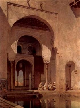 Alhambra, Adolf Steel, 1886.