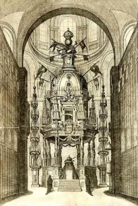 Descripcion de las honras que se hicieron a la catholica Mg. de D. Phelippe quarto