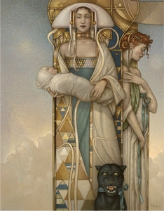 Michael Parkes - The Gift
