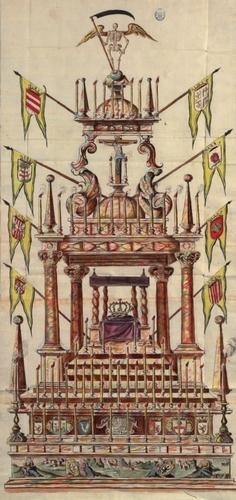 Túmulo de Luis I, Santa Fé de Bogotá