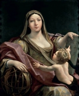 An-Allegory-Of-Astrology - Giovanni Andrea Sirani_