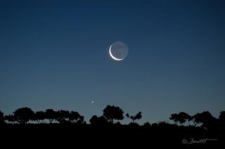 conjunción Luna Júpiter 17-6-2012