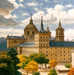 Monasterio Escorial - Pintor sevillano Jesús Fernandez