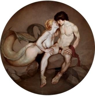 Salmacis and Hermaphroditus I