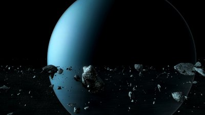stock-footage-cgi-render-of-the-planet-uranus-from-inside-the-planetary-rings