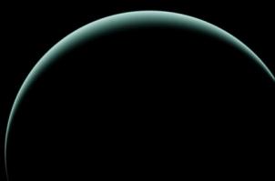 Urano fue tomada por la nave Voyager 2 el 25 de Enero de 1986