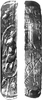 The wooden fragmentary. Face A e Face B (2)
