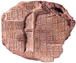 El alba de la astronomía Mesopotamia