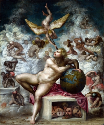 MICHELANGELO-Buonarroti-The-Dream-of-Human-Life