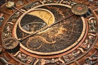 astronomical clock face